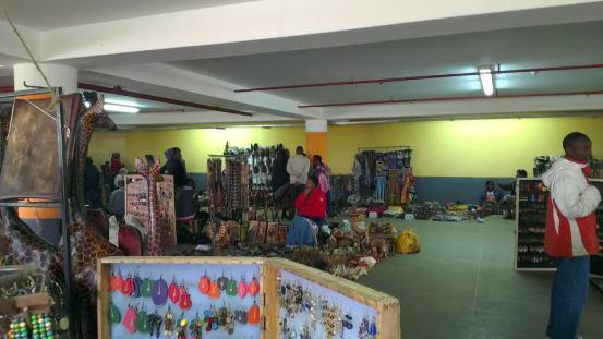 A snap shot of Masai Market.