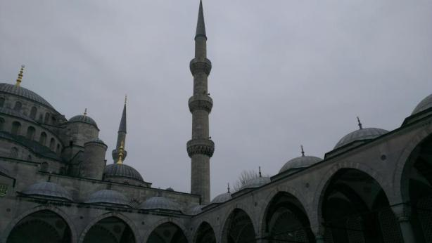 Blue Mosque Istanbul.