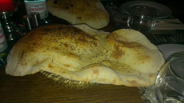 Istanbul flat bread