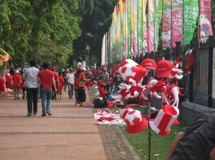 Football stadium Jakarta Indonesia