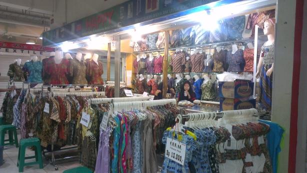 Batik Market, Solo, Surakata, Indonesia