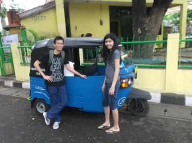 Tok Tok in Jakarta Indonesia
