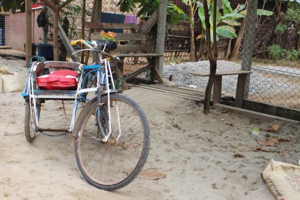 Trishaw Ngwe Saung Myanmar