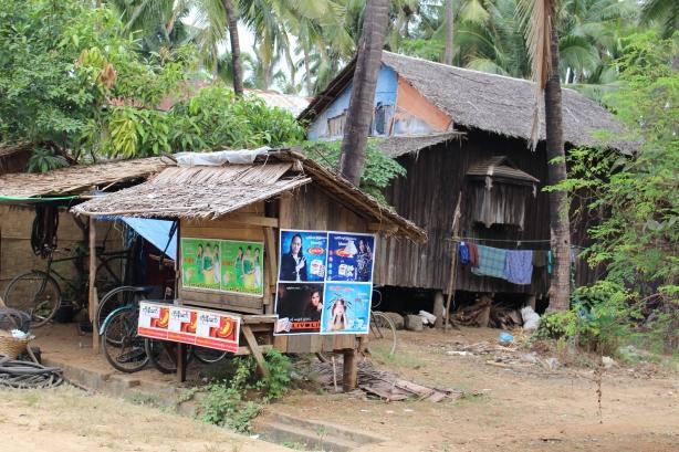 Ngwe Saung Village